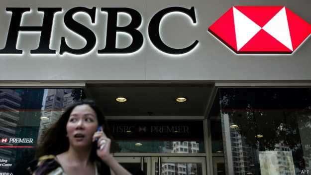 """Una de las revelaciones de los """"arrepentidos"""" obligó al HSBC a pagar una multa de US$1.900 millones Foto: BBC Mundo/AFP"""