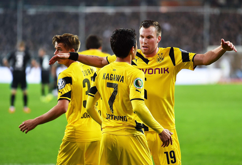Borussia Dortmund venceu St. Paul Foto: Stuart Franklin/Getty Images