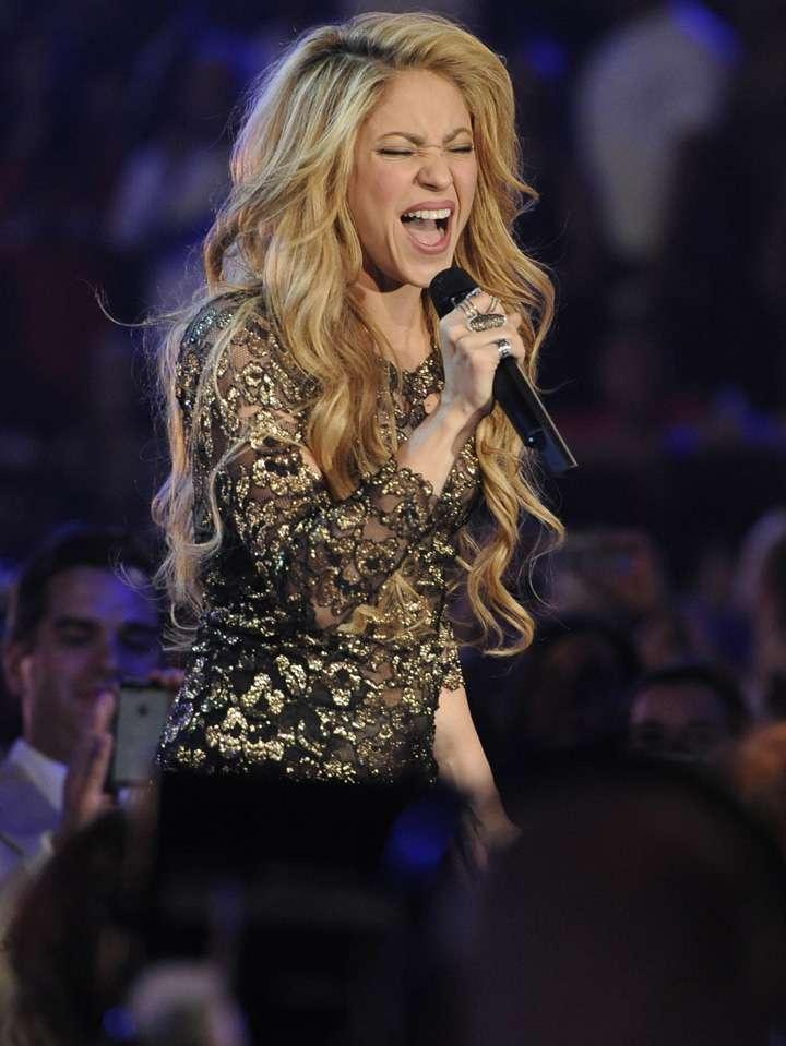 Shakira Foto: AP