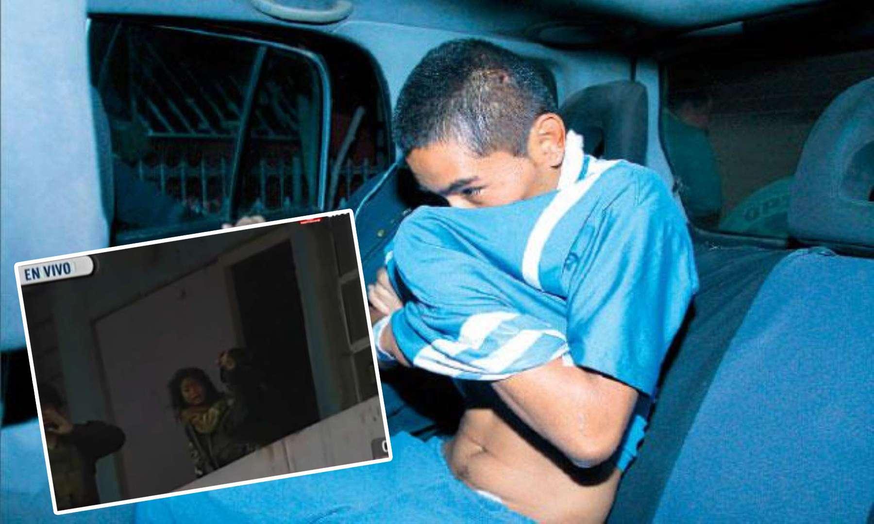 Alexander Huayta Ventura asesinó el lunes a una mujer delante de sus hijos en San Juan de Miraflores. Foto: Andina
