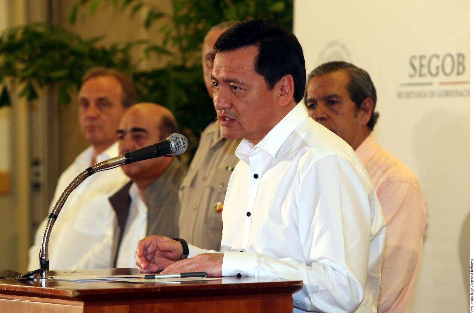 Miguel Ángel Osorio Chong Foto: Agencia Reforma