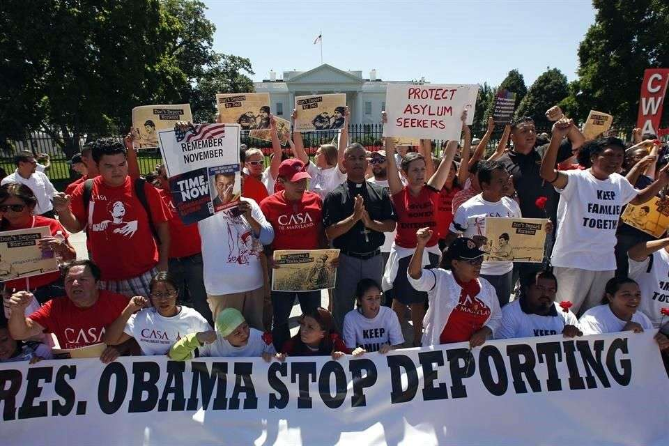El apoyo de los hispanos al Partido Demócrata disminuyó ante la falta de acción de Obama para frenar las deportaciones Foto: Reuters en español