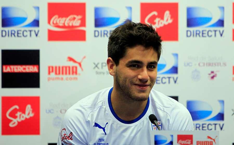 Stefano Magnasco dice que ganarle a la U es una motivación. Foto: Agencia UNO