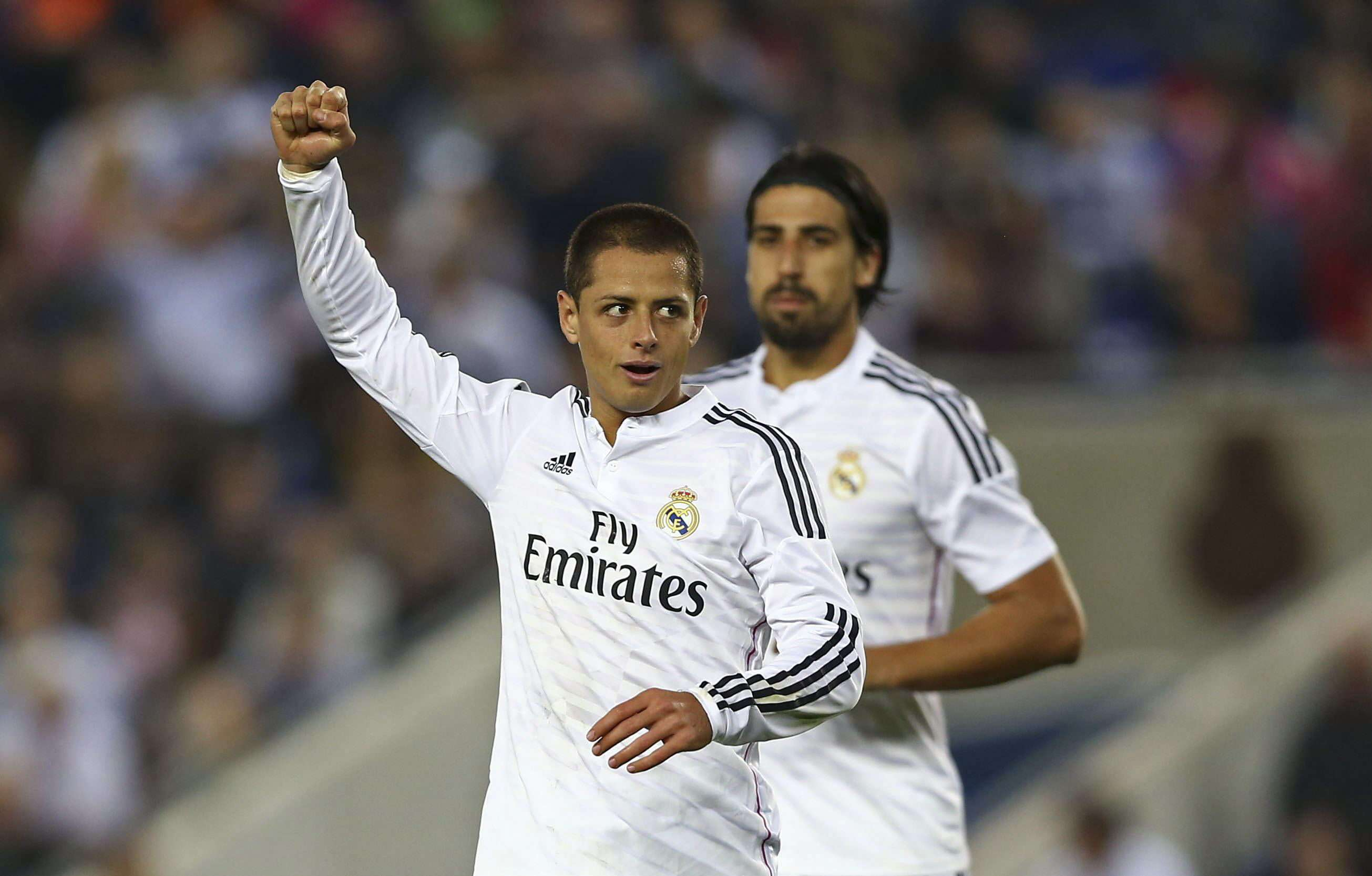Chicharito Foto: EFE