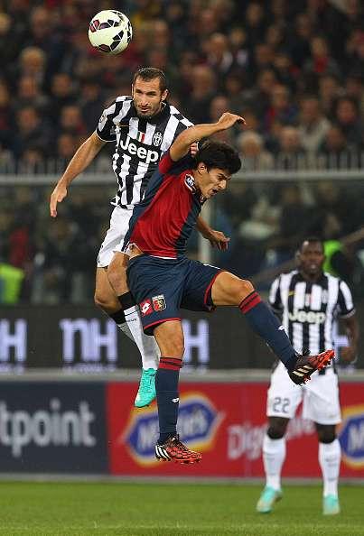 La Juventus de Turín cayó este miércoles ante el Génova en el estadio Luigi Ferraris, en juego de la jornada 9 de la Serie A de Italia. Luca Antonini hizo el tanto del triunfo para los anfitriones. Foto: Getty Images