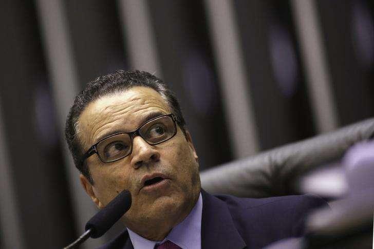 Presidente da Câmara dos Deputados, Henrique Eduardo Alves, durante sessão do Congresso em Brasília. 20/08/2013. Foto: Ueslei Marcelino/Reuters