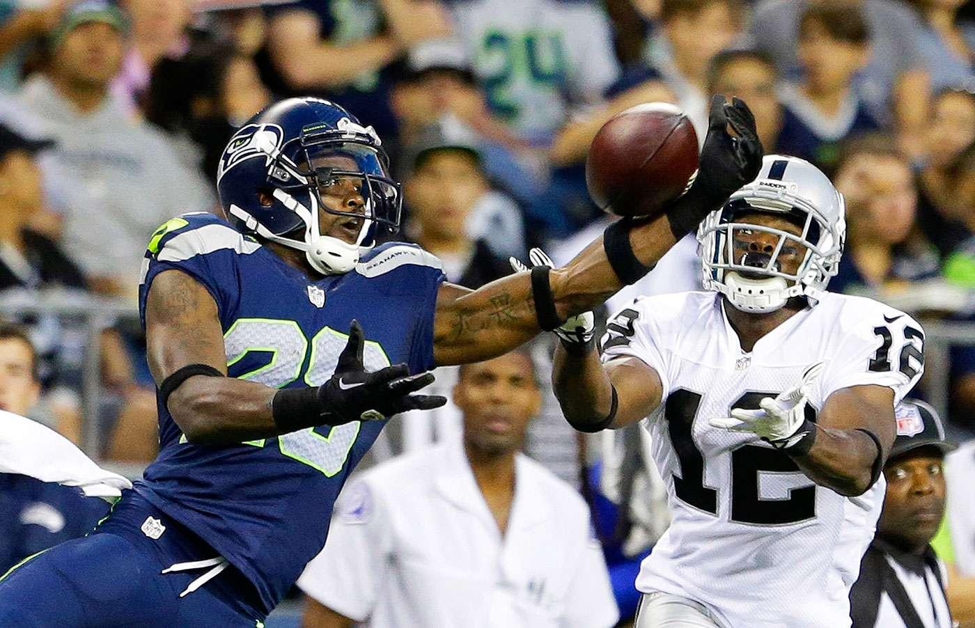 Oakland Raiders vs. Seattle Seahawks (Domingo por la tarde). Los campeones de la NFL tampoco pueden perder para seguir peleando la división con Arizona y alejarse de los 49ers. Los Raiders no tienen muchas posibilidades de ganar su primer juego del año en Seattle. Victoria de Seahawks por más de 14 puntos. Foto: AP
