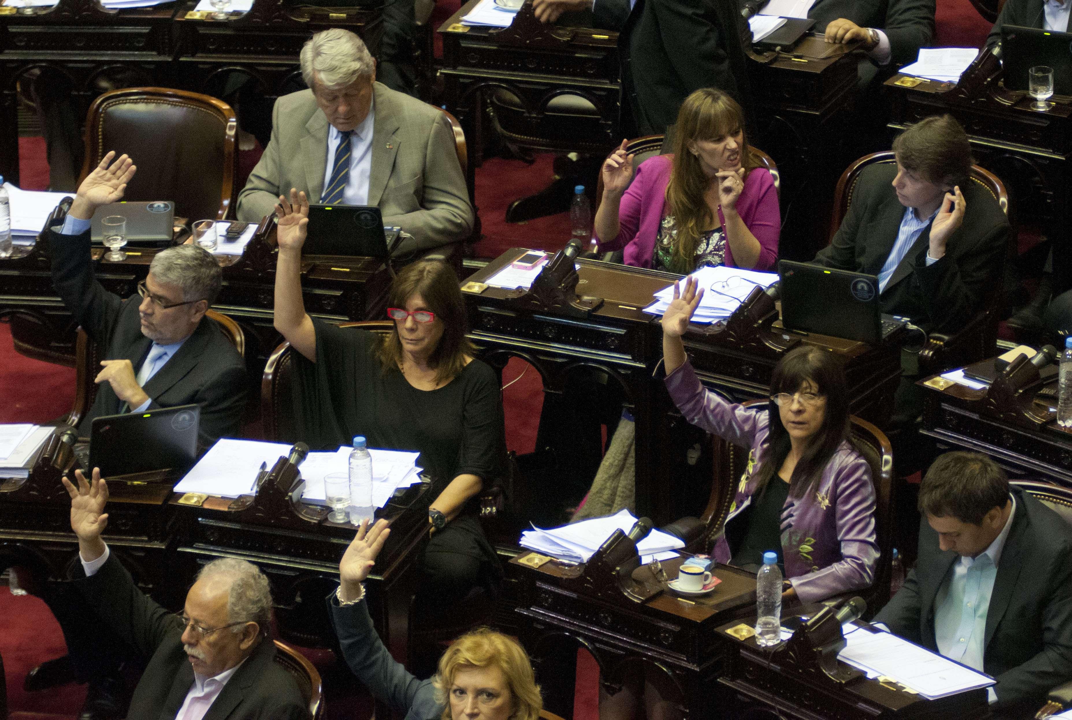 Es Ley el Presupuesto 2015 en Argentina Foto: Agencias