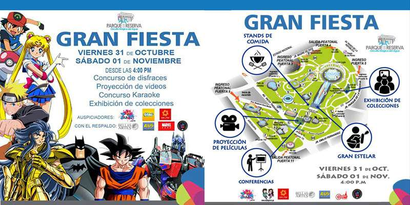 """Gran Fiesta"". Foto: Facebook"