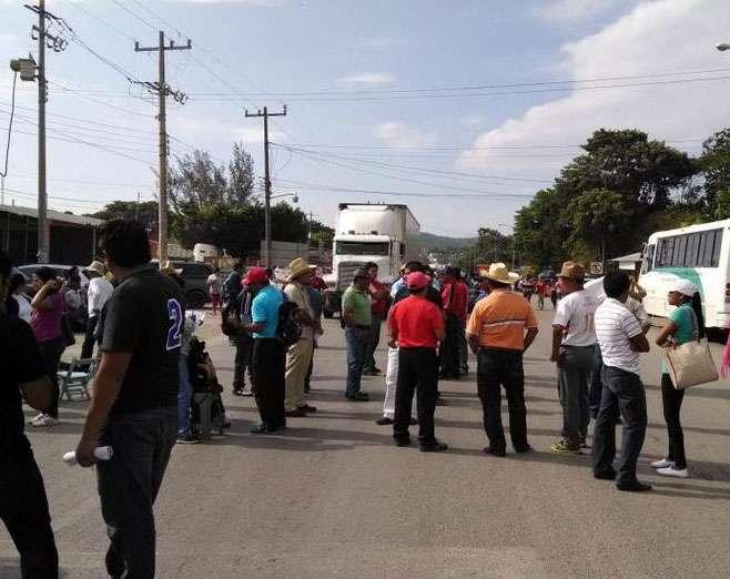 Se prevé que las actividades de protesta se extiendan hasta el viernes. Foto: Twitter / @vicuyaze