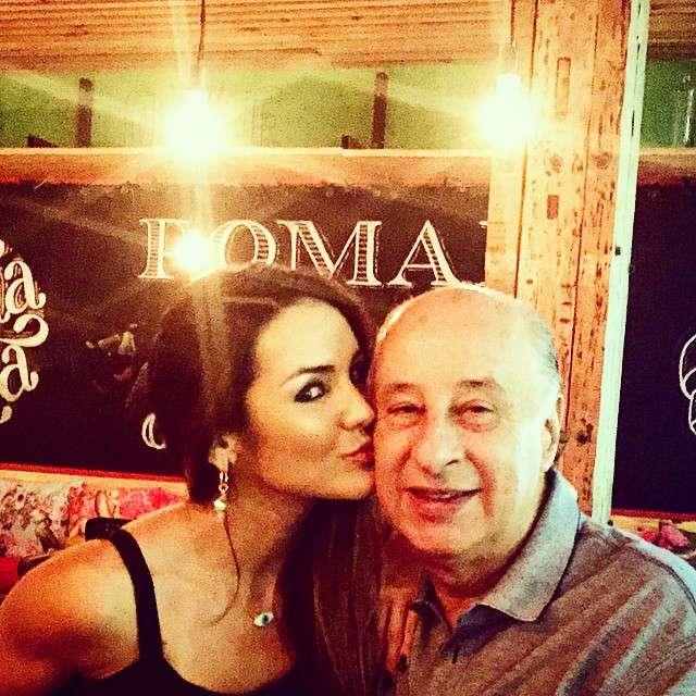 Carol Muniz com o namorado Marco Polo del Nero Foto: Instagram/Reprodução
