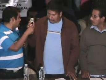 Padres de familia de los jóvenes desaparecidos desde la noche del 26 de septiembre ofrecieron la noche del miércoles una conferencia de prensa tras reunirse en privado con el presidente Enrique Peña Nieto en Los Pinos. Foto: Centro Prodh