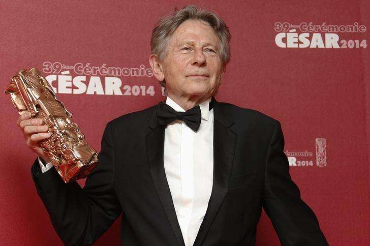 "Director Roman Polanski poses with his Best Director award for ""La Venus A La Fourrure"" (Venus in Fur) during a photocall at the 39th Cesar Awards ceremony in Paris February 28, 2014. Foto: Regis Duvignau/Reuters"