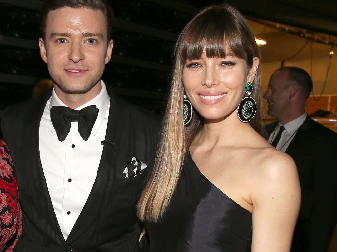 Justin Timberlake y Jessica Biel Foto: Getty Images