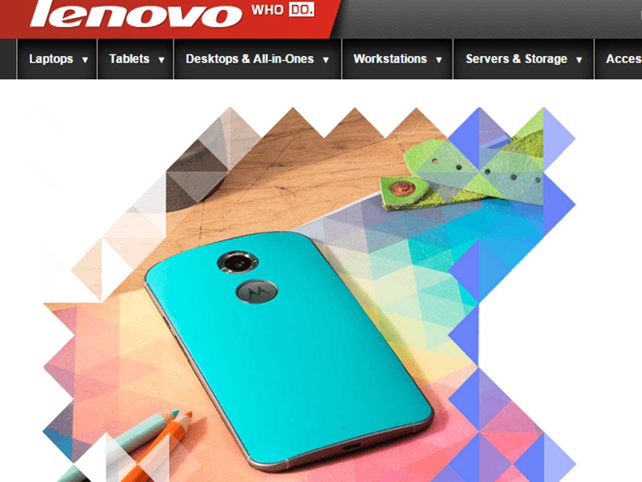 Lenovo ahora es dueño de los nuevos modelos de Motorola Foto: Lenovo