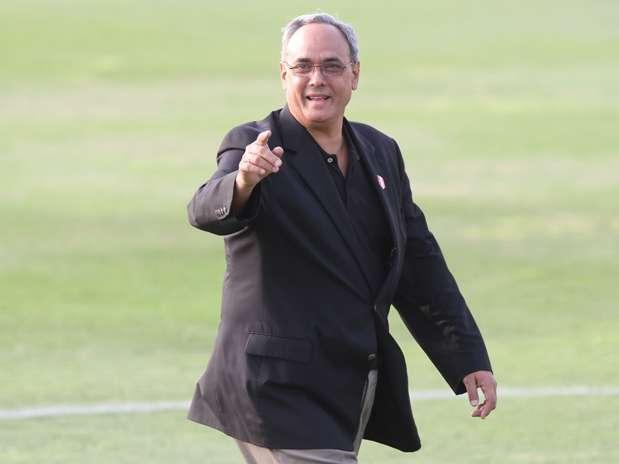 Manuel Burga es presidente de la FPF desde el 2002. Foto: Miguel Ángel Bustamante/Terra Perú