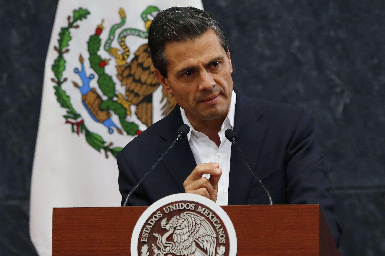 O presidente mexicano se reuniu com os pais dos 43 estudantes desaparecidos Foto: Bernardo Montoya /Reuters