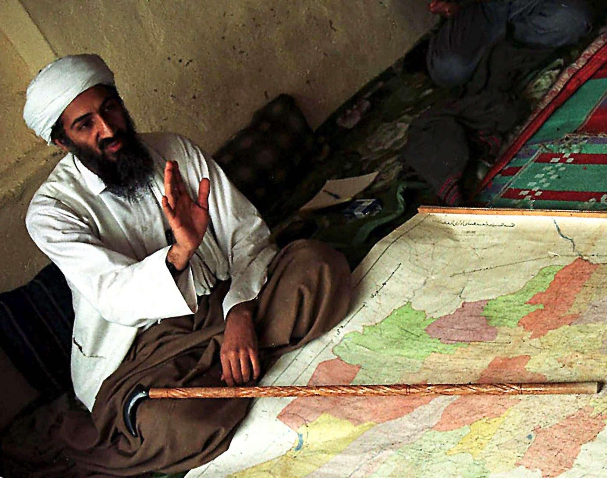 Osama Bin Laden murió durante un operativo de las fuerzas de los Navy Seals en Abbotabat, Pakistán. Foto: AP en español
