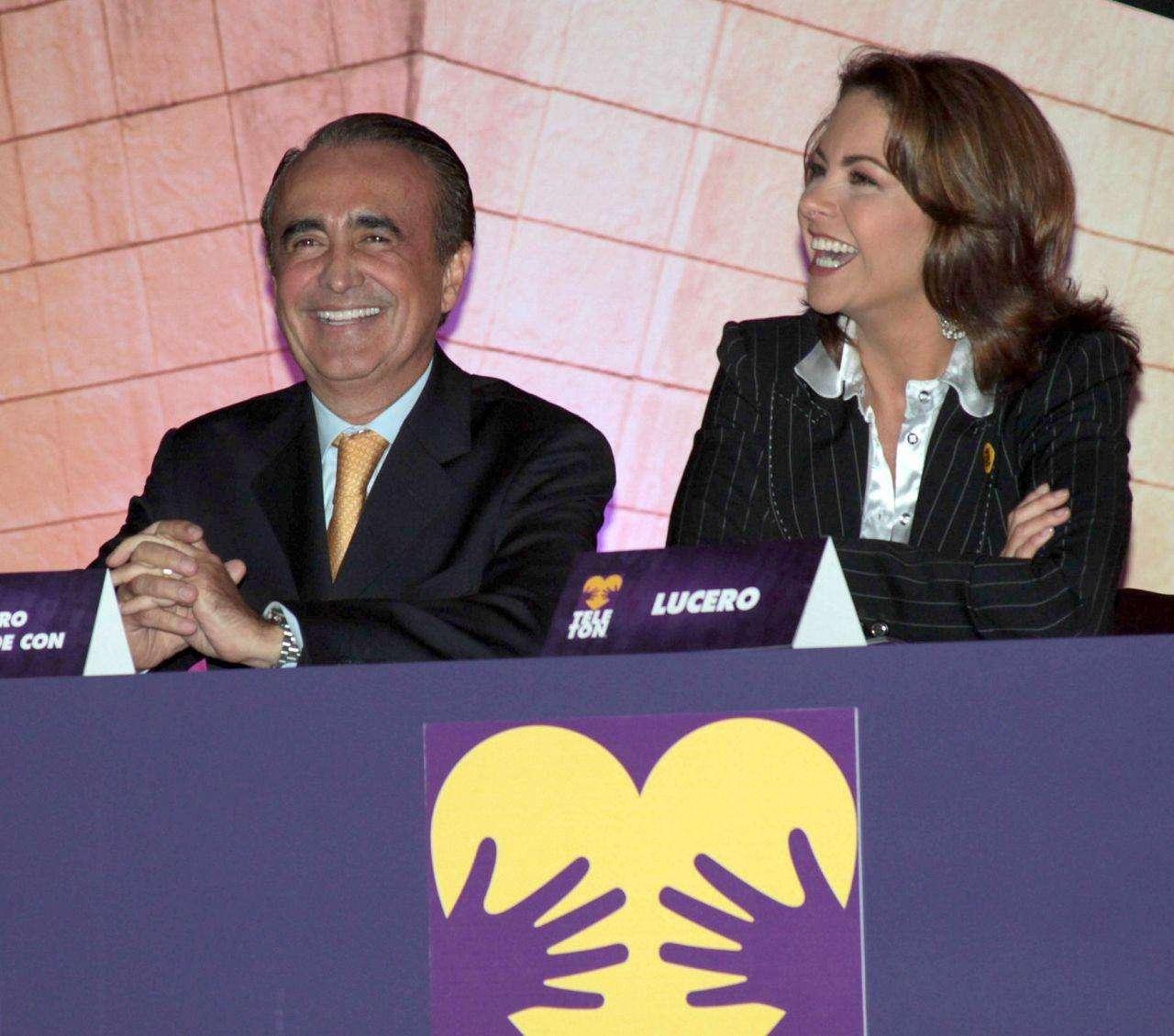 Se conforma elenco del Teletón sin Lucero Foto: Agencia Mezcalent