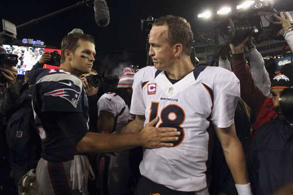 Tom Brady y Peyton Manning se verán las caras por decimosexta ocasión en la NFL. El duelo en Foxborough hará arder la Semana 9 de la temporada 2014. Revisa el historial de esta memorable rivalidad. Foto: Getty Images