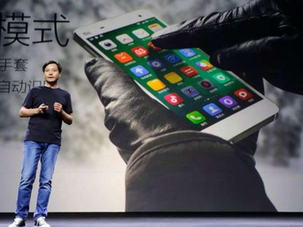 El MI4, que salió a competir en agosto con el Galaxy S5 de Samsung y con el iPhone de Apple, es el teléfono insignia de Xiaomi Foto: Reuters en español