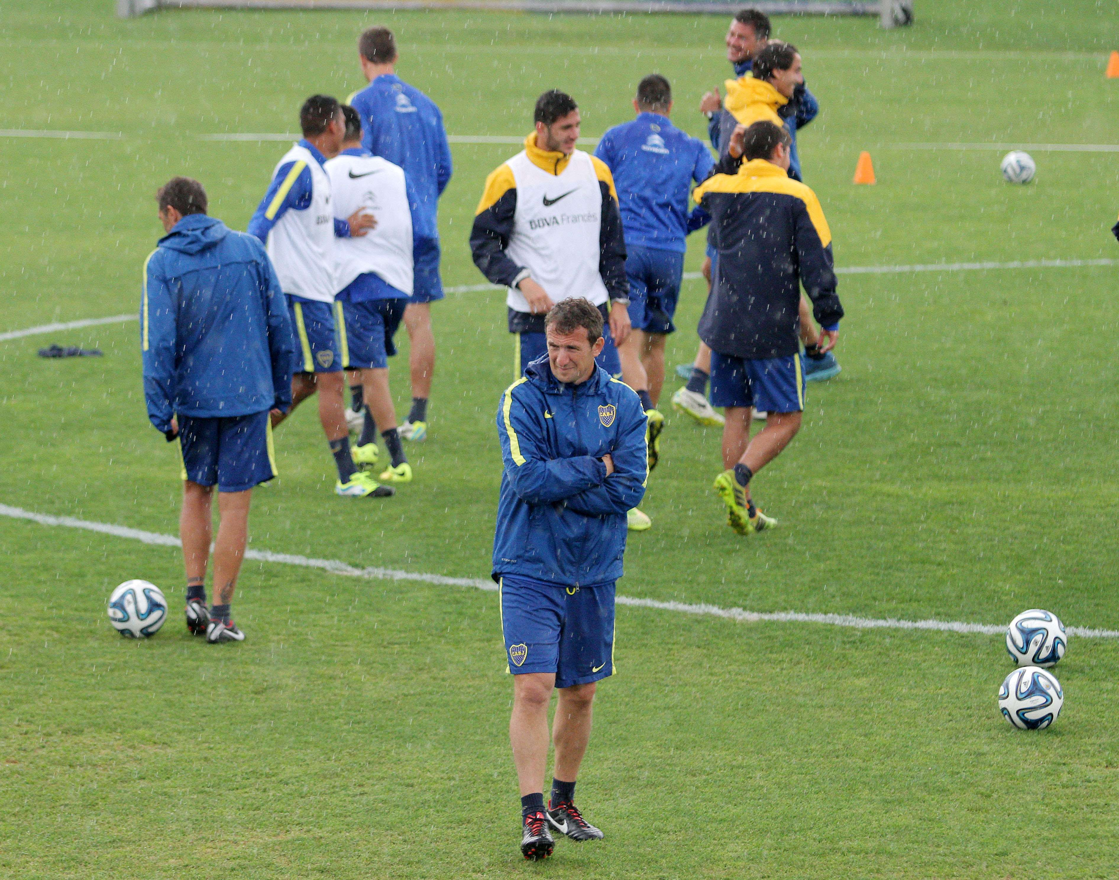 Boca tiene por delante el clásico ante San Lorenzo, antes de la revancha con Cerro Porteño. Foto: Noticias Argentinas