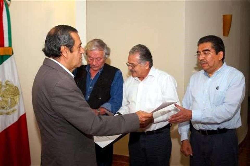 El Gobierno del Estado de Guerrero anunció los primeros cambios en el Gabinete de la administración del interinato de Rogelio Ortega. Foto: Reforma/Especial