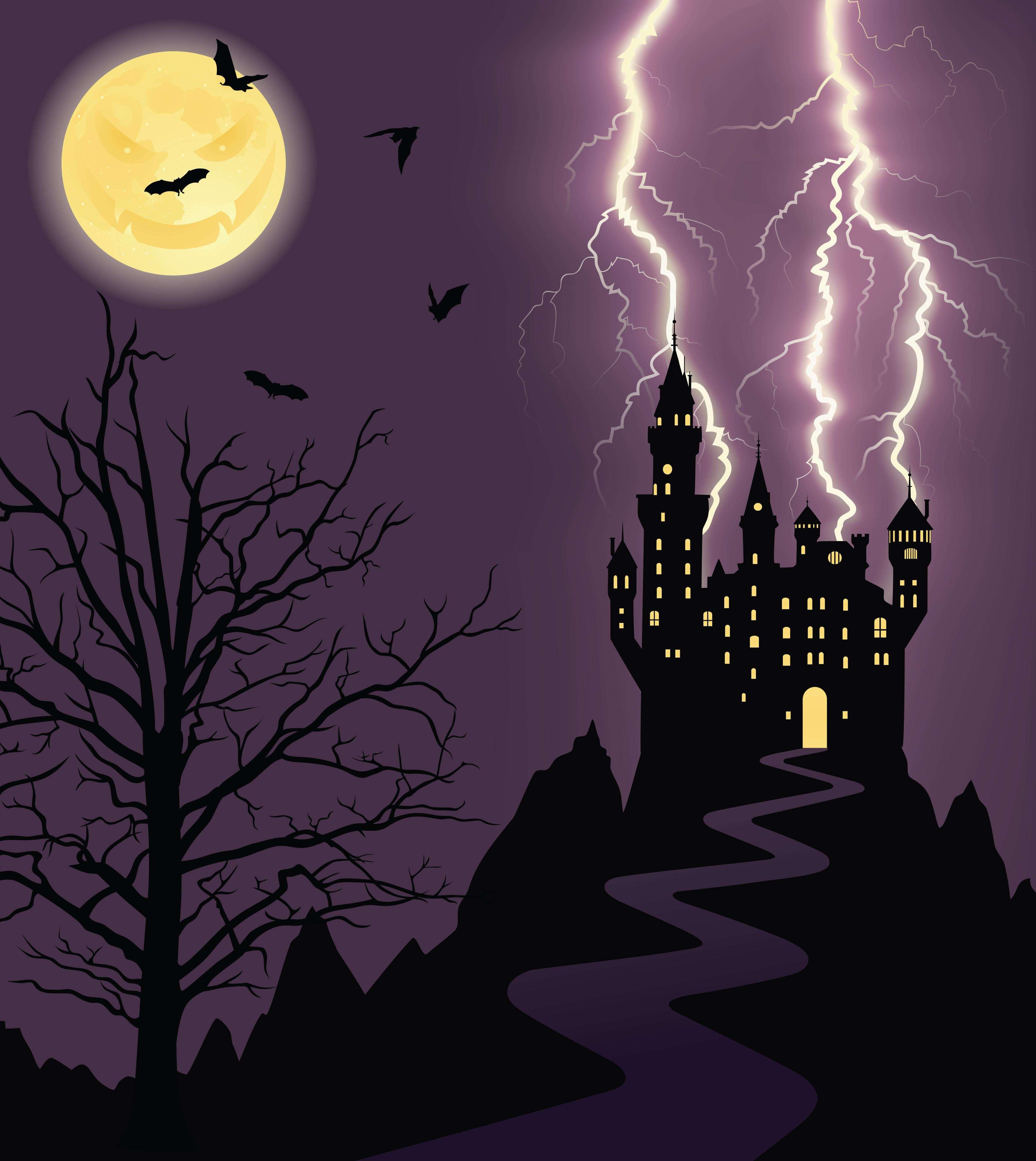 El castillo de Bran en Rumania es uno de los destinos turísticos más visitados durante la noche de Halloween. Foto: iStock