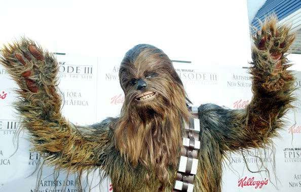 "Chewbacca de ""Star Wars"". Foto: Getty Images"