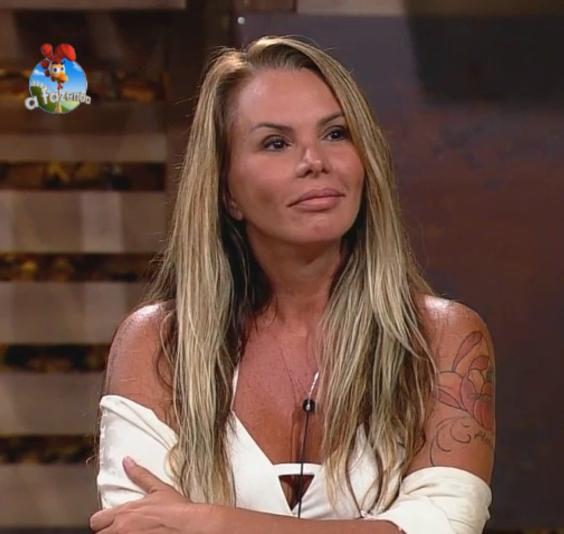 Cristina Mortágua foi eliminada da 'Fazenda 7' Foto: TV Record/Reprodução