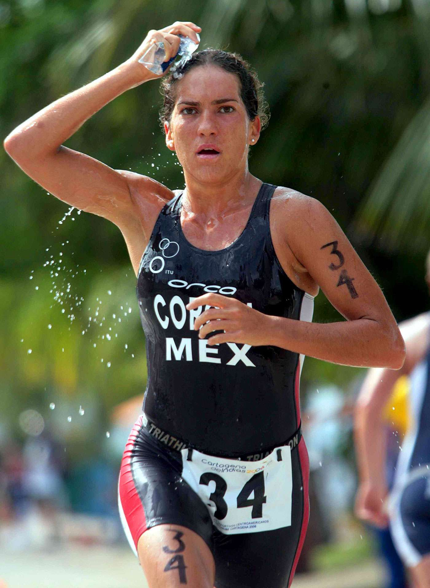 Fabiola Corona, triatleta mexicana Foto: Mexsport