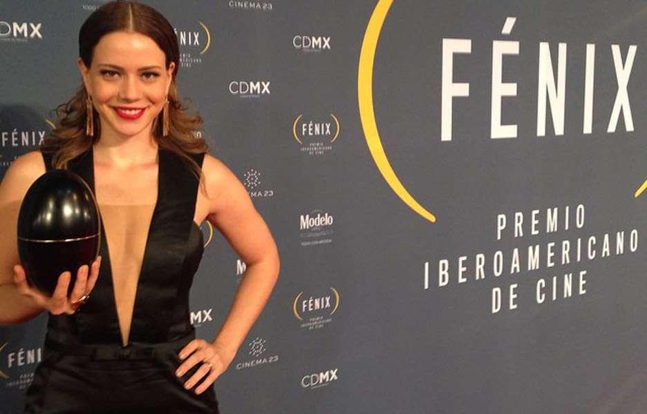 Leandra Leal ganha prêmio de cinema em evento no México. Foto: Reprodução/Instagram
