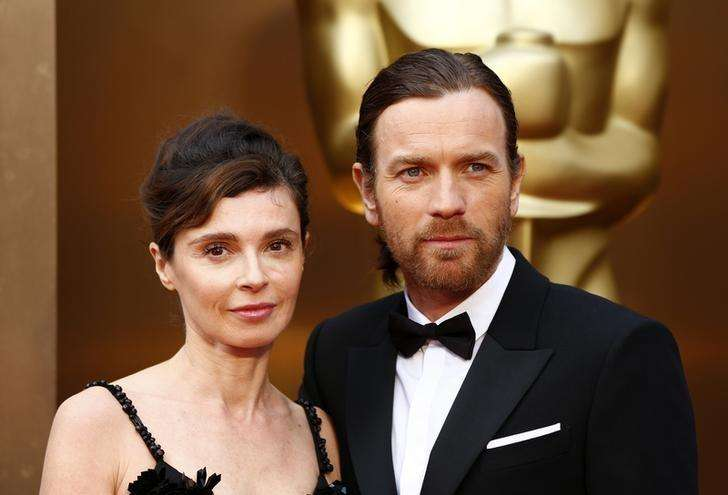 Actor Ewan McGregor and his wife Eve Mavrakis arrive at the 86th Academy Awards in Hollywood, California March 2, 2014. Foto: Lucas Jackson/Reuters