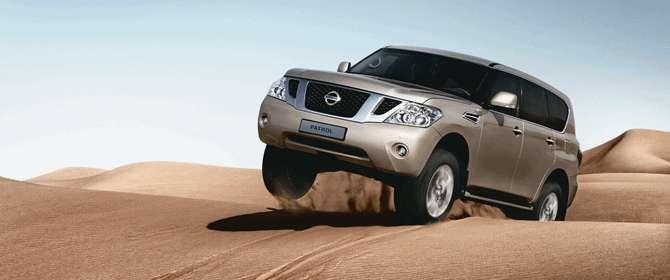 El diseño de las ambulancias está basado en el SUV Nissan Patrol. Foto: Getty Images