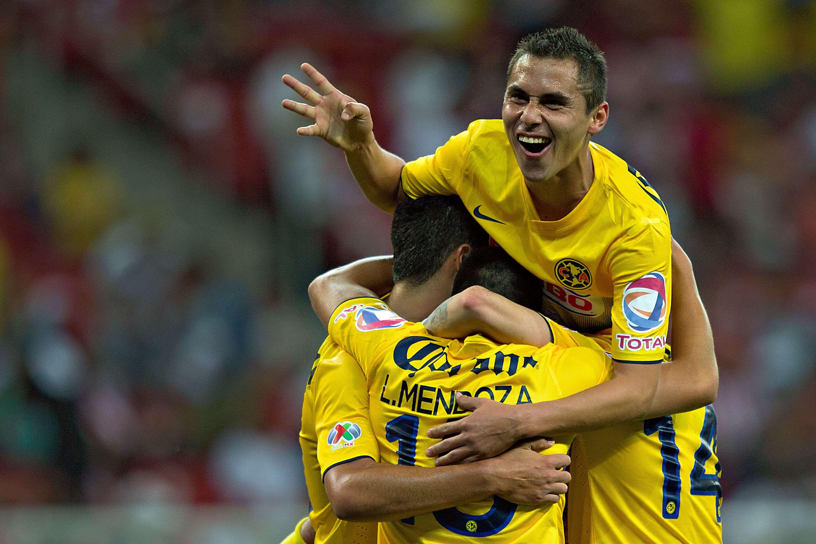 En el último Clásico (Clausura 2014), América goleó 4-0 a domicilio al Guadalajara. Foto: Imago 7