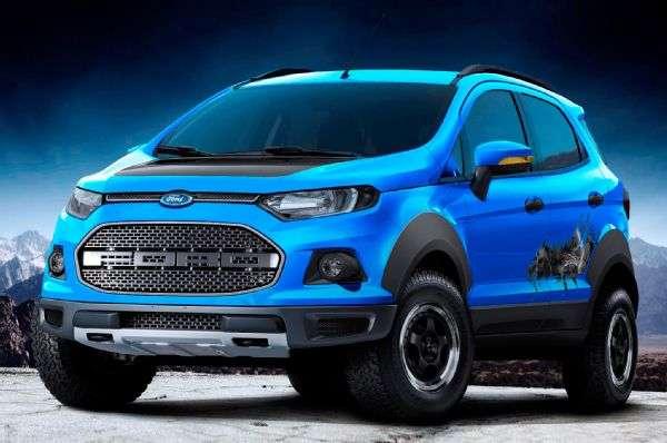Ford presentó en Brasil un EcoSport con frente de Raptor. Conoce todos los detalles. Foto: Autos Terra MotorTrend