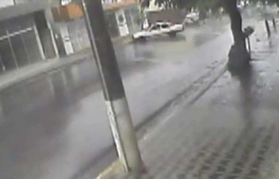 Acidente foi registrado na cidade de Dores do Indaiá, em Minas Gerais. Foto: Reprodução