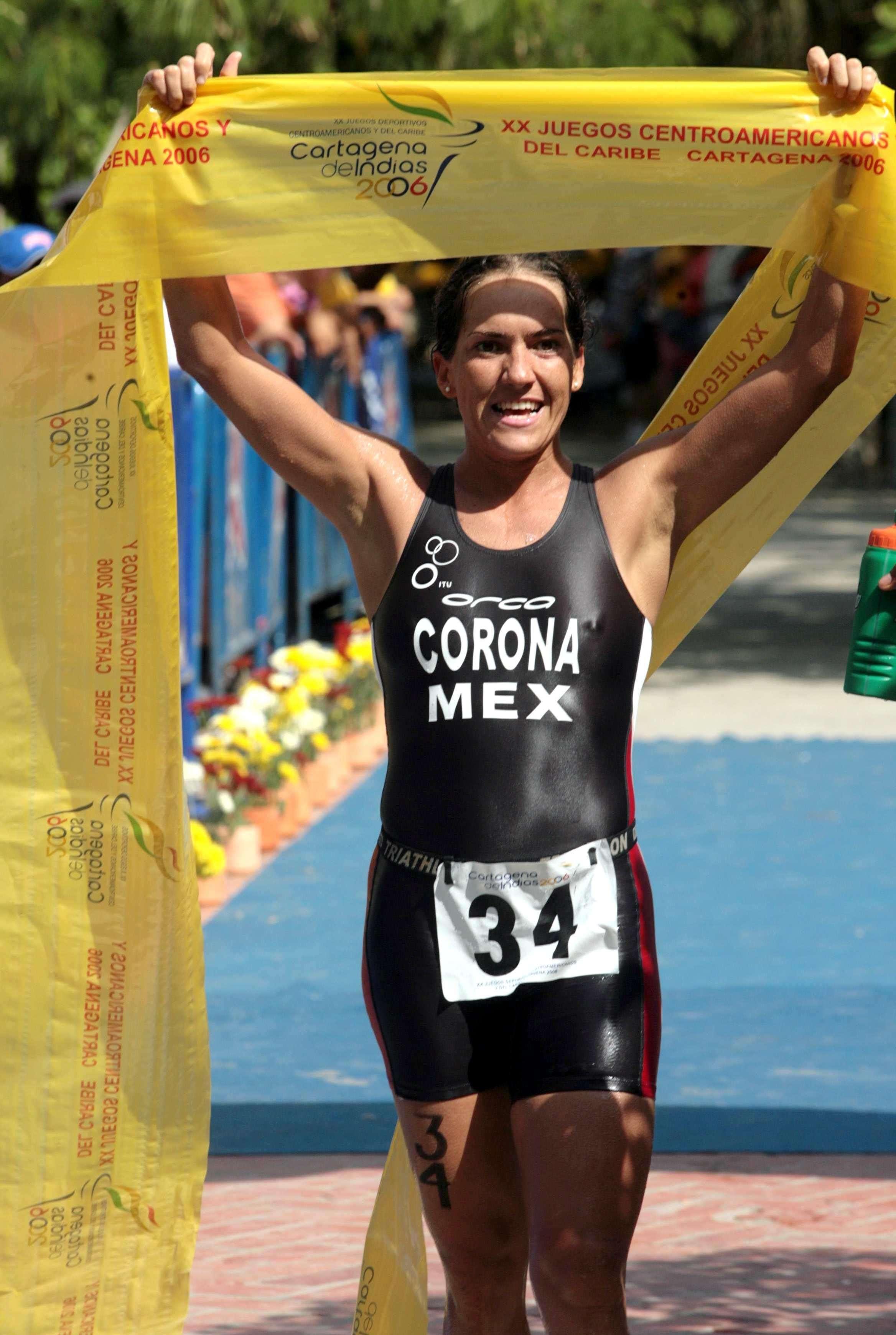 Fabiola Corona, es una de las atletas secuestradas, Corona fue competidora en Juegos Olímpicos. Foto: Mexsport