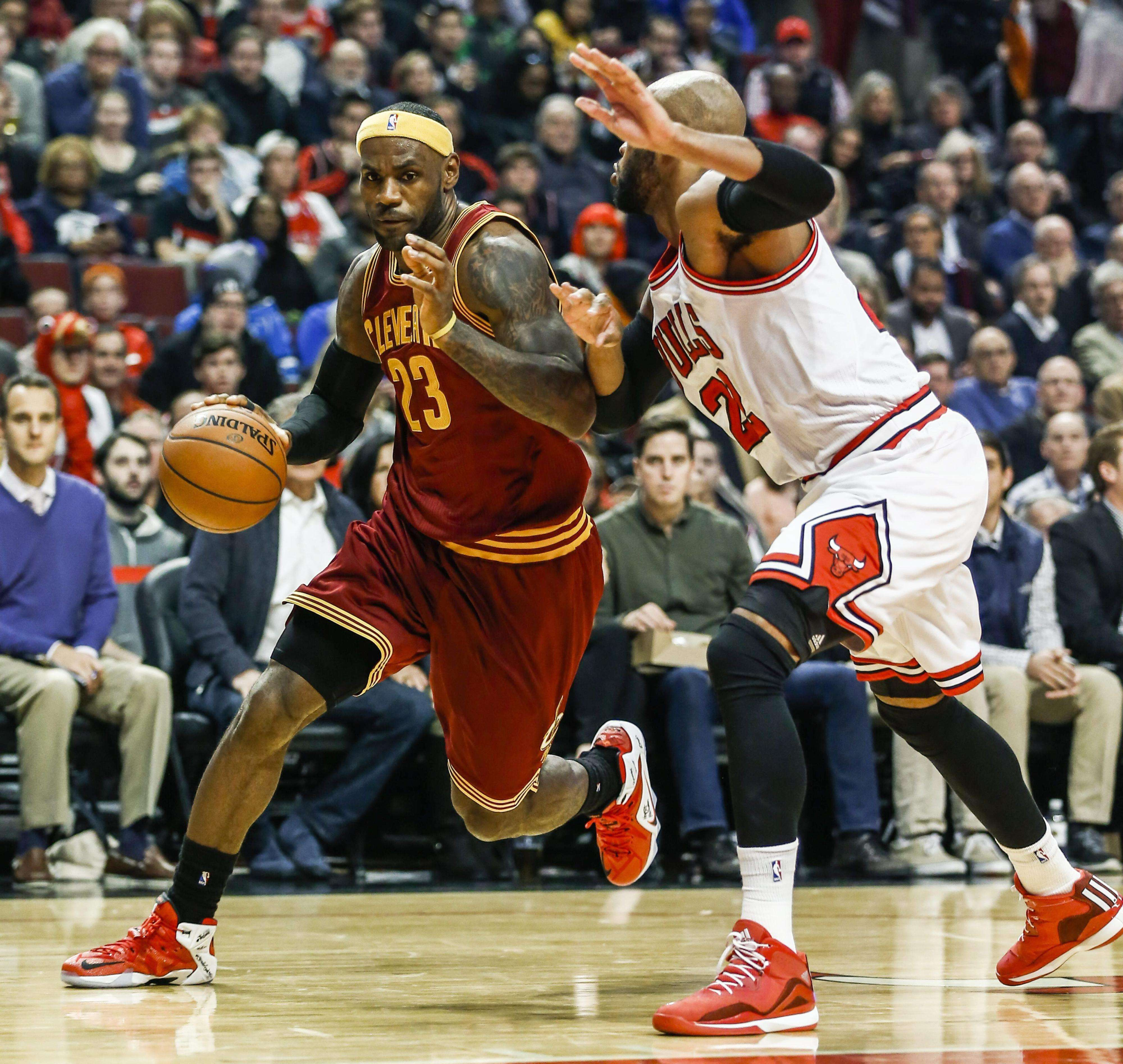 LeBron James anotó 36 puntos. Foto: EFE