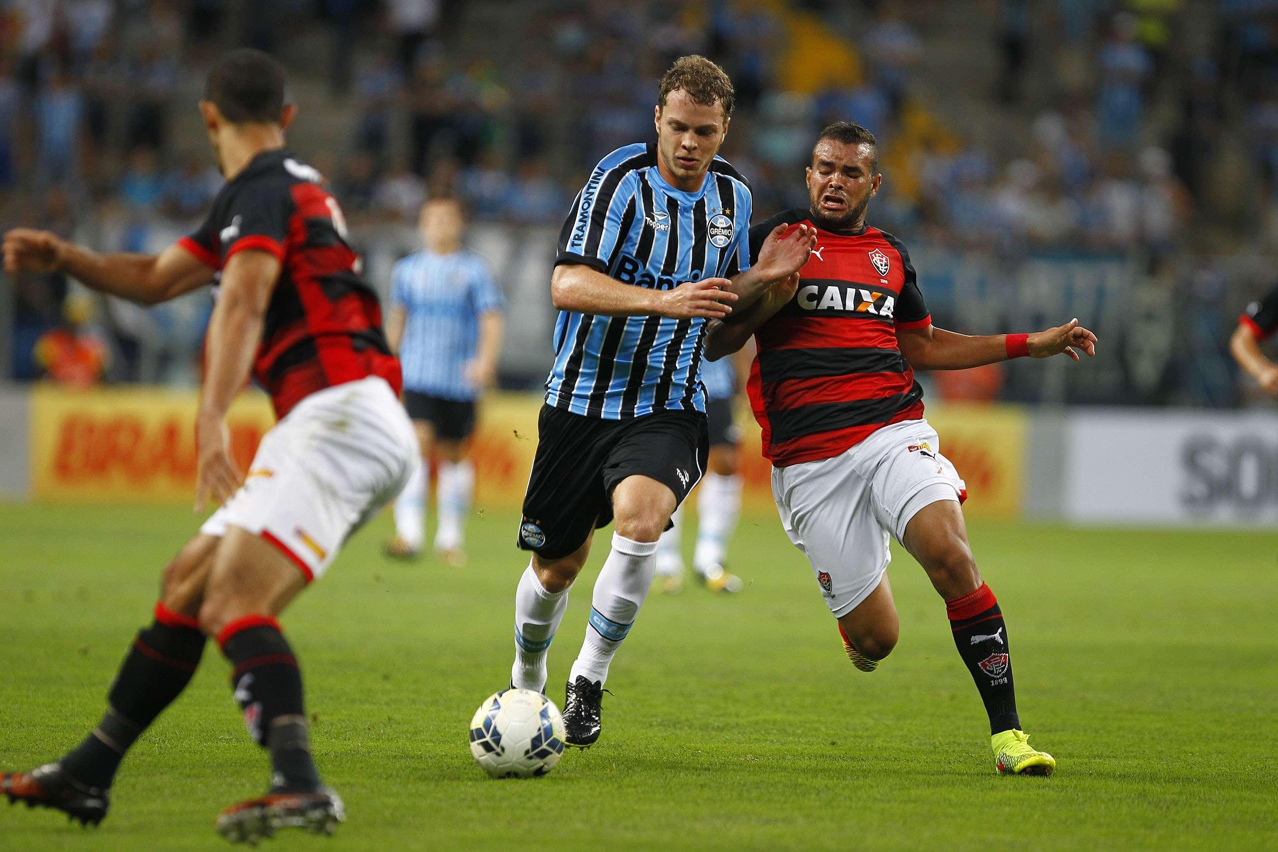 Lucas Coelho teve atuação discreta no primeiro tempo Foto: Lucas Uebel/Grêmio FBPA/Divulgação