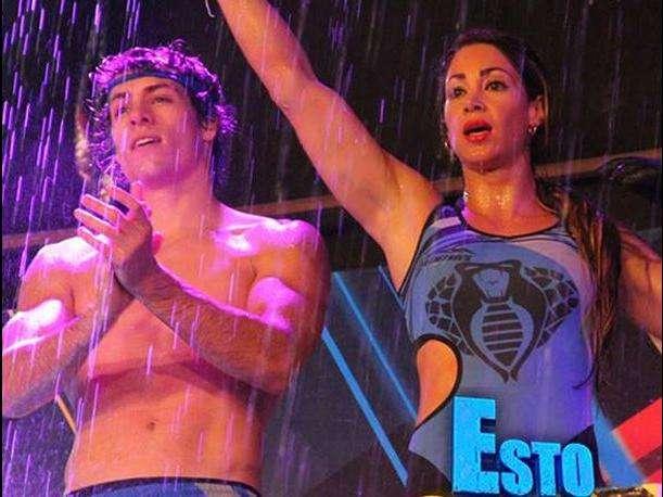 """Patricio Parodi y Melissa Loza de """"Esto es Guerra"""". Foto: Facebook"""