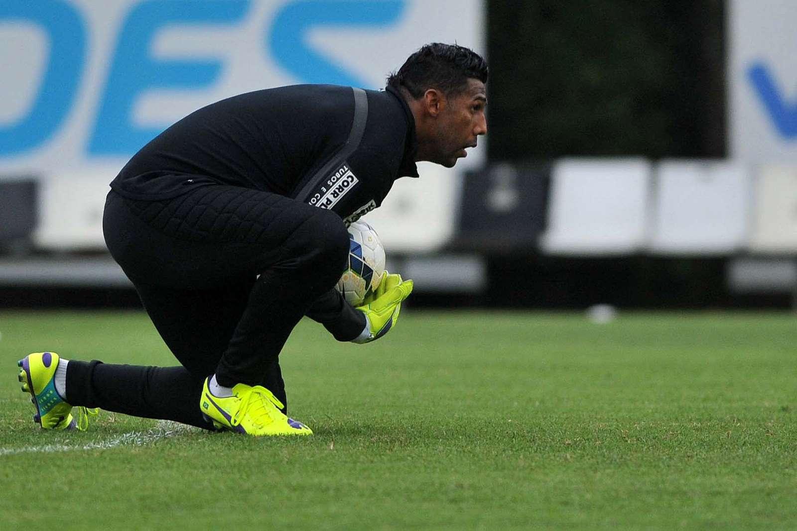 Aranha minimizou problemas externos para decisão Foto: Divulgação Santos FC