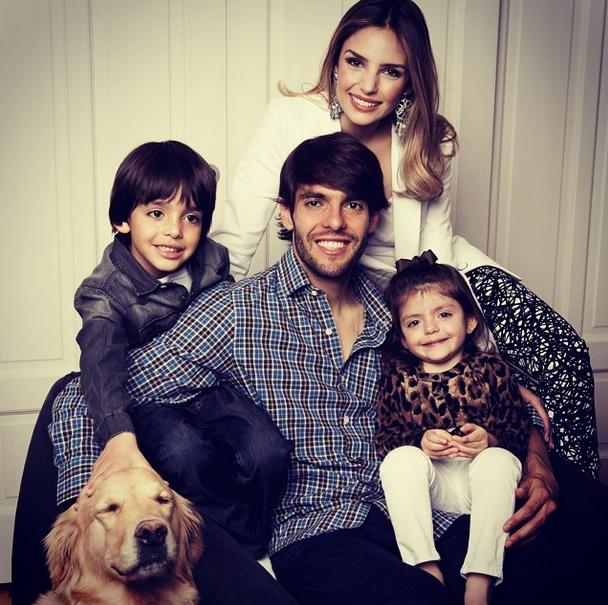 Carol e Kaká se separaram Foto: Instagram/Reprodução