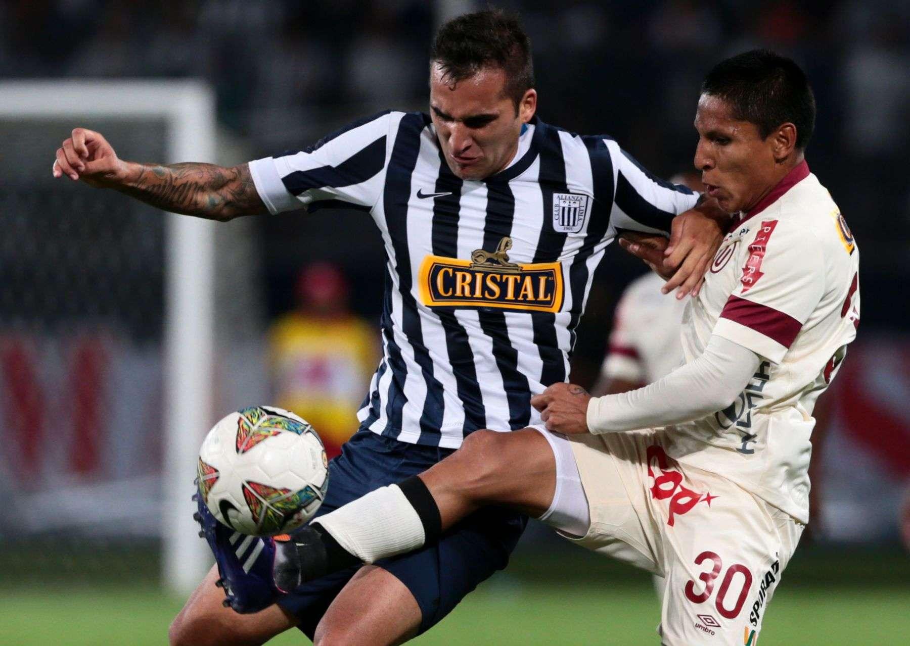 Pablo Míguez ha anotado 6 goles para Alianza Lima en lo que va del año. Foto: Andina