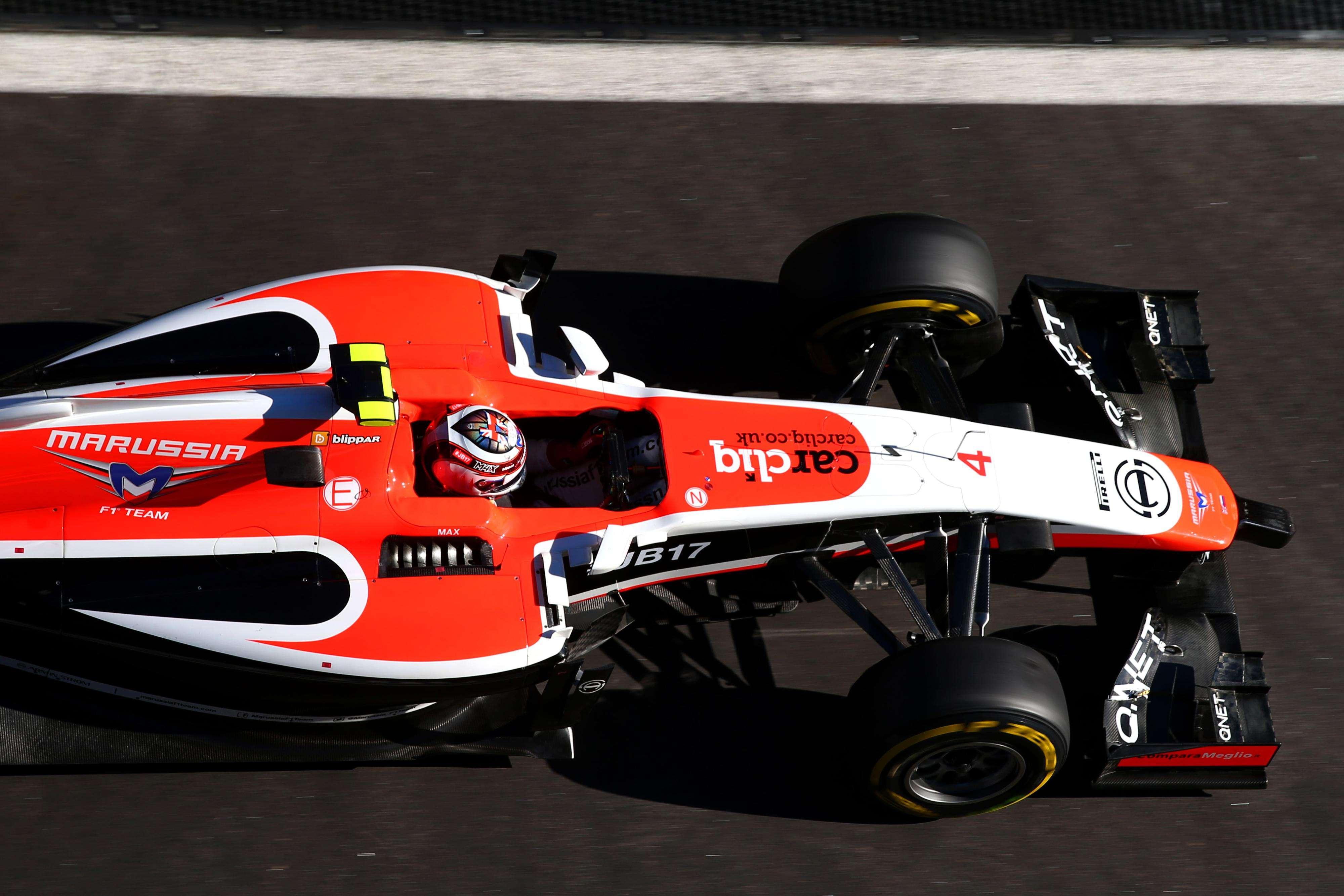 La escudería Marussia dice adiós a la Fórmula 1 por temas económicos Foto: Gettyimages