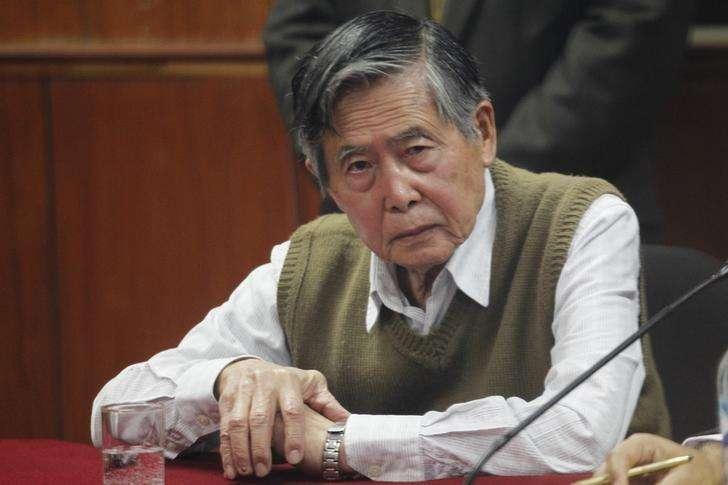 O ex-presidente peruano Alberto Fujimori durante julgamento, em Lima, no Peru, em outubro. 29/10/2013 Foto: Enrique Castro-Mendivil/Reuters