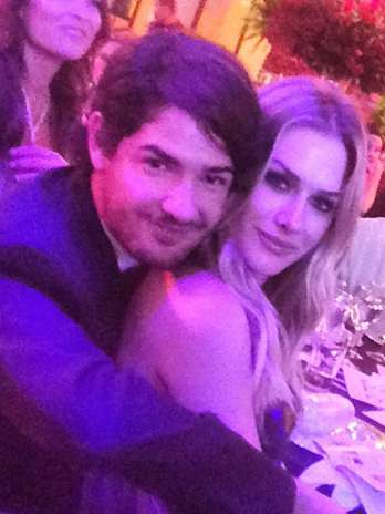 Alexandre Pato e Fiorella Mattheis juntos em jantar beneficente Foto: @nanarude/ Instagram/Reprodução