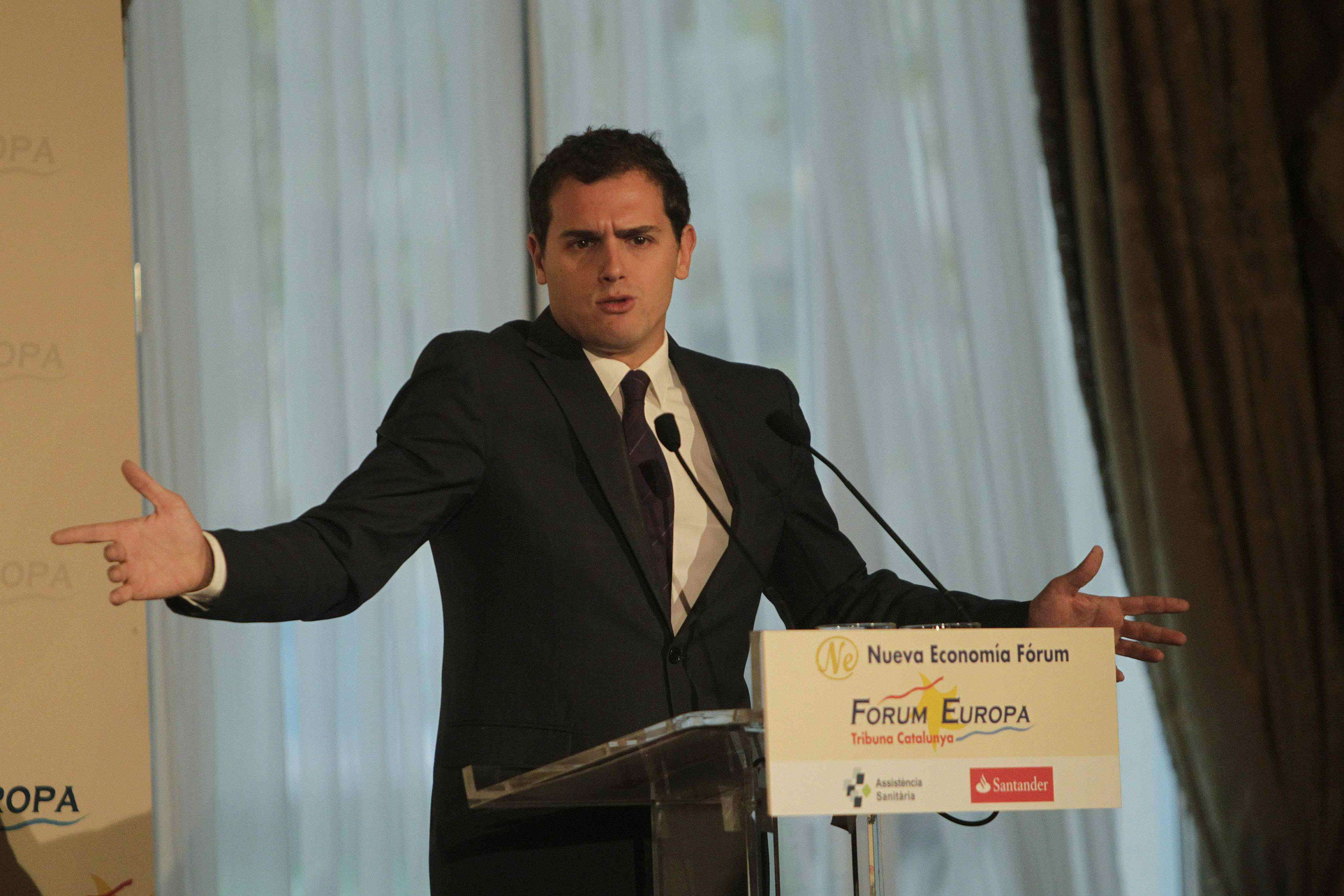 El líder de C's, Albert Rivera. Foto: EFE en español