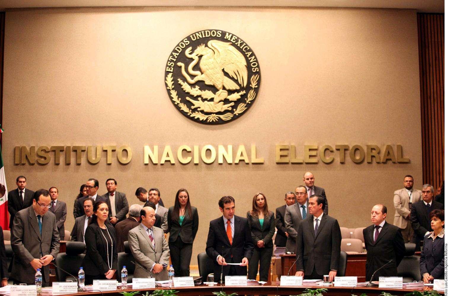 INE Foto: Agencia Reforma