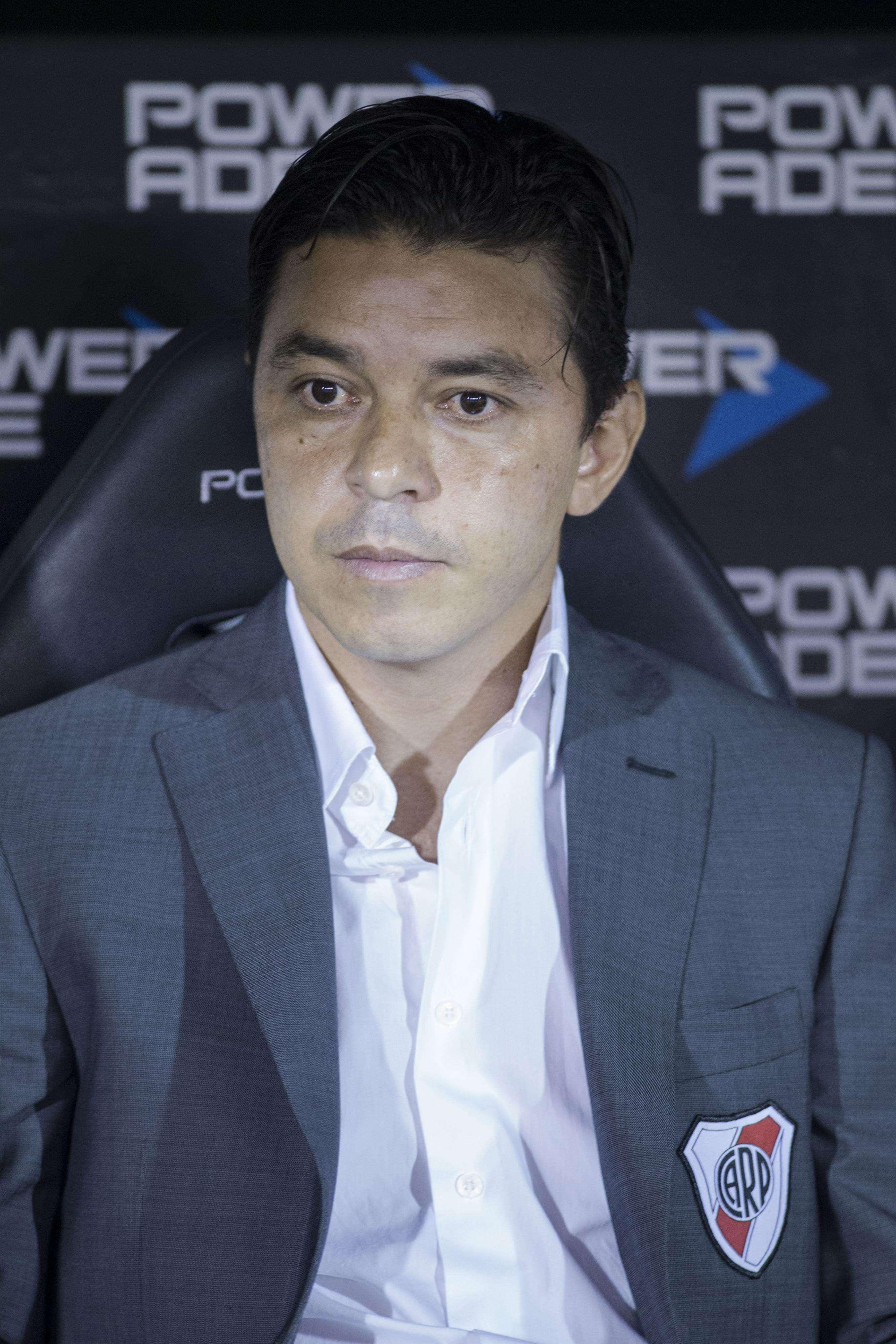 El entrenador de River, Marcelo Gallardo Foto: NA